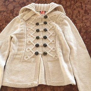JCrew wool collection sailor sweater medium